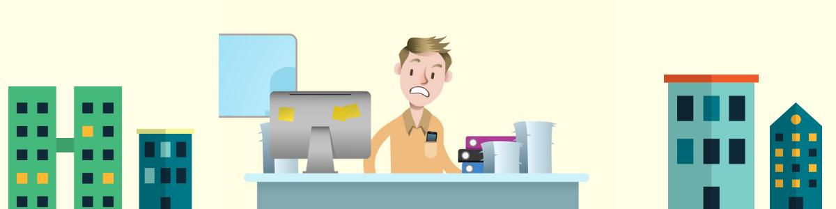 Geen papieren en mappen meer op je bureau met online boekhouden.